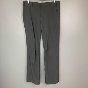 REI Gray Convertible Outdoor Cargo Pants